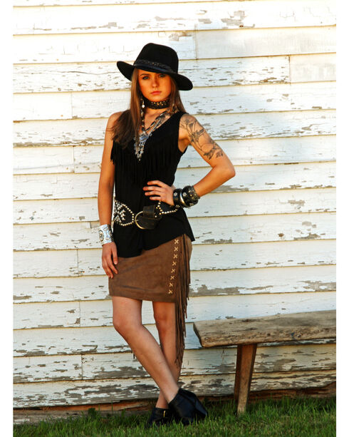 Tasha Polizzi Women's Valley Skirt , Brown, hi-res