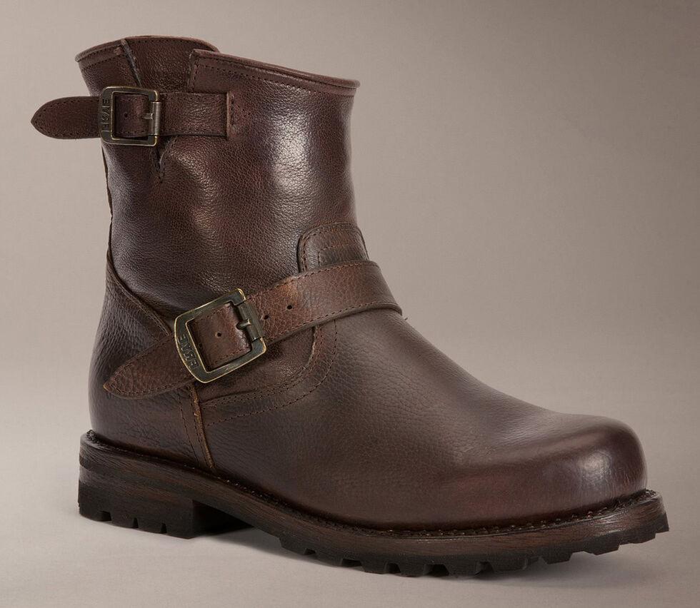 Frye Warren Engineer Boots, Brown, hi-res