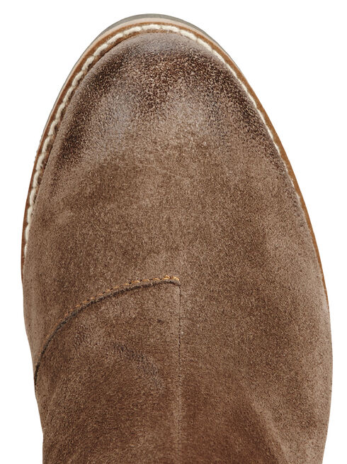 Ariat Moon Rock Ryman Wedge Cowgirl Boots - Round Toe, Tan, hi-res
