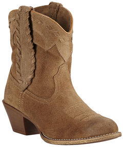 Ariat Relaxed Bark Women's Round Up Rianda Boots - Round Toe, , hi-res