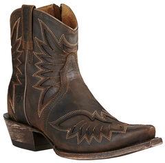 Ariat Brown Women's Andalusia Santos Boots - Snip Toe, , hi-res