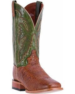Dan Post Men's Brown Callahan Boots - Square Toe , Brown, hi-res