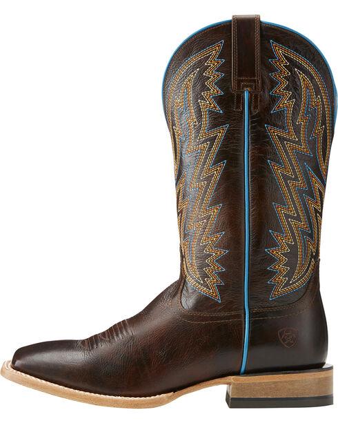 Ariat Men's Ranchero Rebound Dark Brown Cowboy Boots - Square Toe, , hi-res