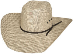 Bullhide Men's Cash Money 50X Straw Cowboy Hat, , hi-res