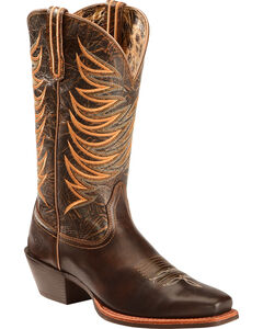 Ariat Legend Legacy Cowgirl Boots - Square Toe , , hi-res