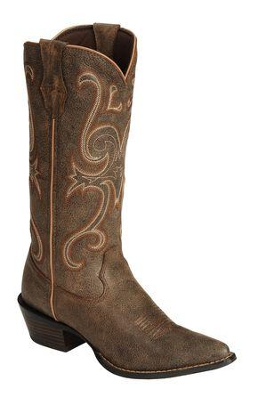 Durango Jealous Crush Western Boots, Brn Bomber, hi-res