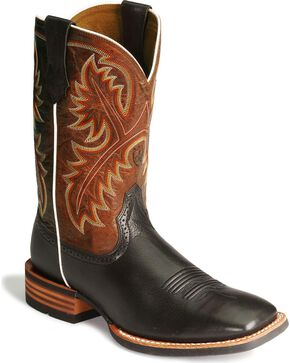 "Ariat Quickdraw 11"" Western Boots, Black, hi-res"