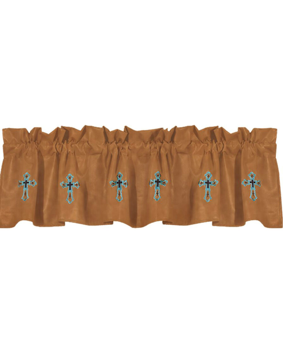 HiEnd Accents Las Cruces II Embroidered Valance, Multi, hi-res