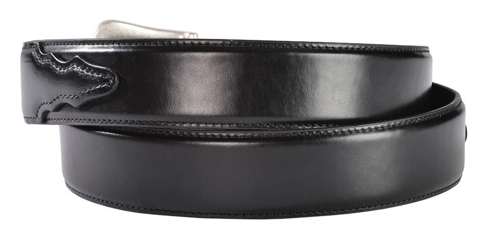 Nocona Basic Leather Belt, Black, hi-res
