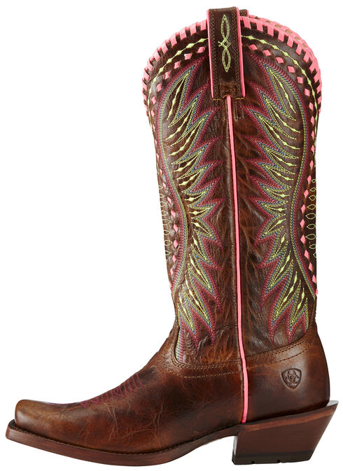 Ariat Women's Dark Brown Derby Boots - Square Toe, , hi-res