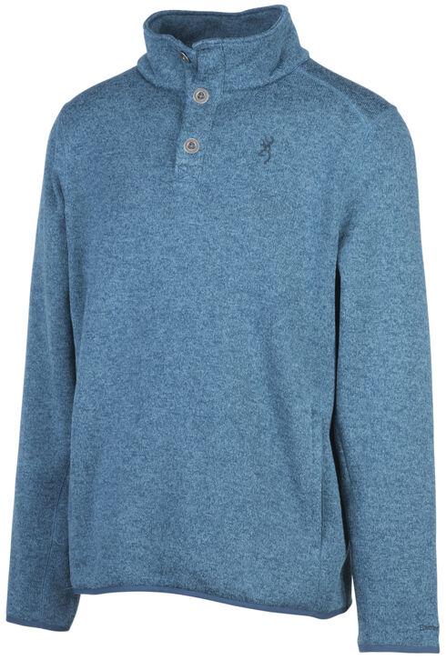 Browning Men's Blue Gilson Sweater, Blue, hi-res