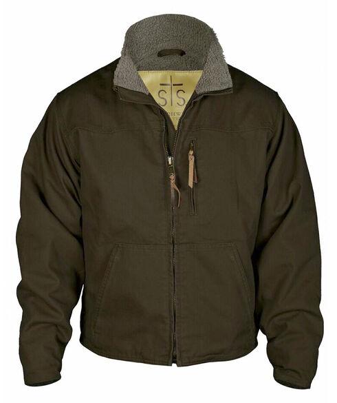 STS Ranchwear Men's Bridger Jacket, Chocolate, hi-res