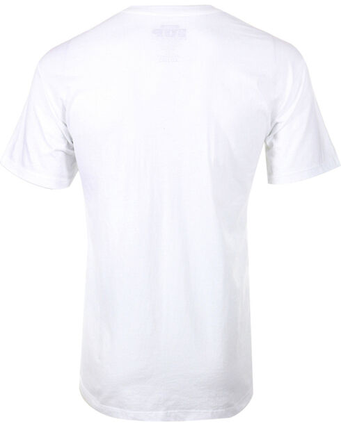 Cowboy Up Men's 8 Seconds to Fame Tee, White, hi-res
