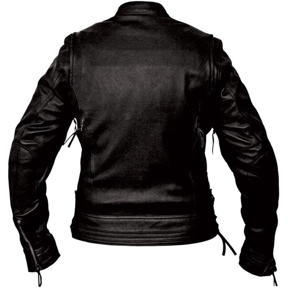 Interstate Leather Women's Jazz Jacket - Plus, Black, hi-res