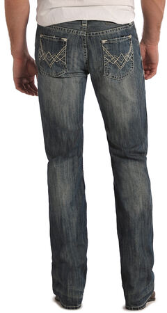 Rock and Roll Cowboy Pistol Regular Fit Jeans - Straight Leg , , hi-res