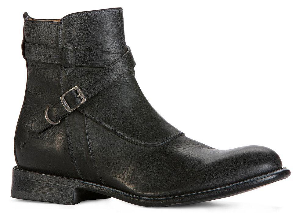 Frye Men's Jayden Crosstrap Boots - Round Toe, Black, hi-res
