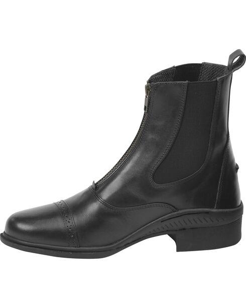 Ovation Women's Aeros Show Zip Paddock Boots, Black, hi-res