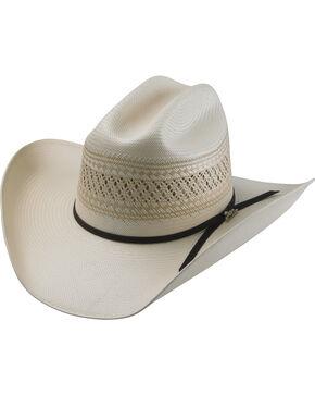 Tony Lama Men's 25X Cattleman Straw Hat , Natural, hi-res