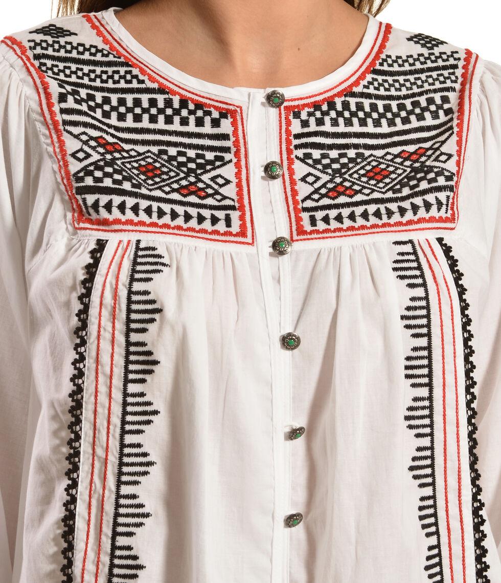 Tasha Polizzi Women's Caravan Shirt, White, hi-res