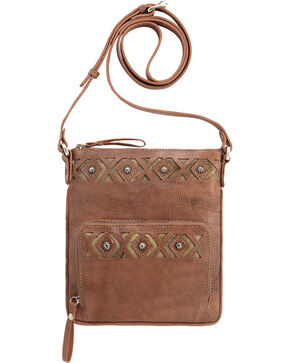American West Moon Dancer Rose Crossbody Bag, Rose, hi-res
