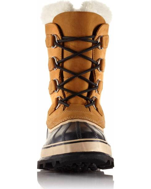 Sorel Men's Tan Caribou Waterproof Boots - Round Toe , Tan, hi-res