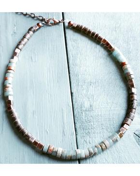 Jewelry Junkie Women's Aqua Terra Choker , Aqua, hi-res