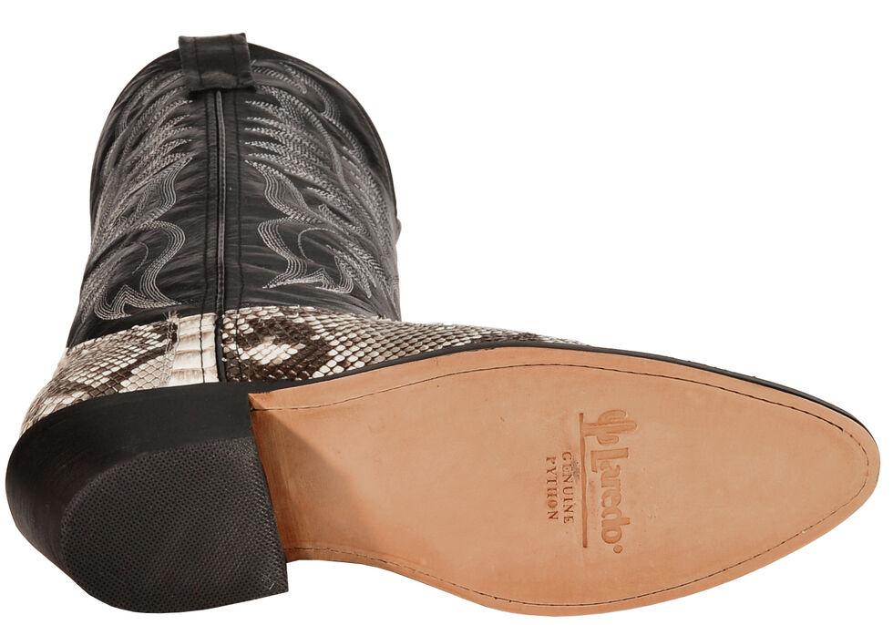 Laredo Key West Python Cowboy Boots - Medium Toe, Natural, hi-res
