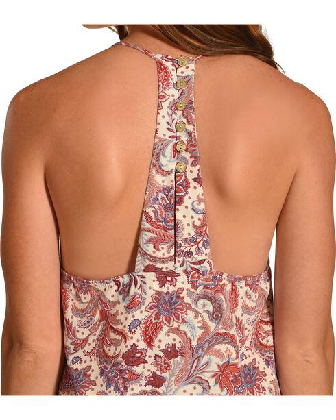 Sage the Label Women's Olivia Floral Print Dress, Cream, hi-res