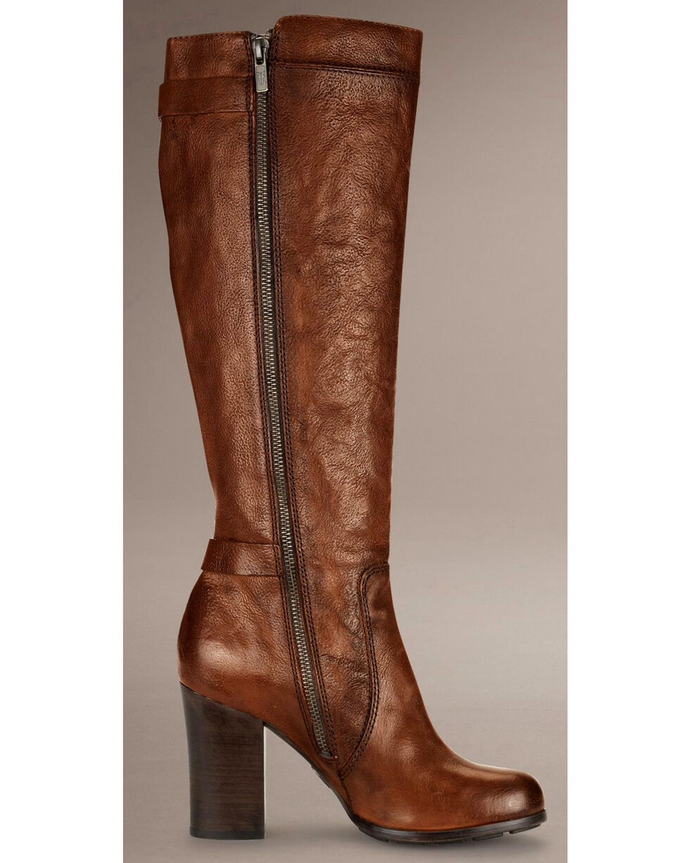 Frye Parker D-Ring Tall Riding Boots, Copper, hi-res