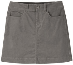 Mountain Khakis Women's Canyon Cord Slim Fit Skirt, Dark Grey, hi-res