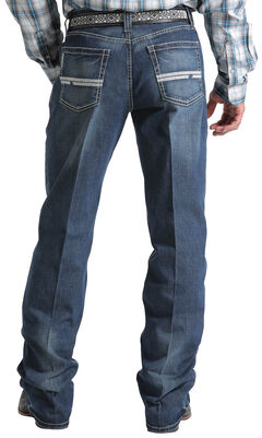 Cinch Men's Indigo Grant Mid-Rise Relaxed Jeans - Boot Cut , , hi-res