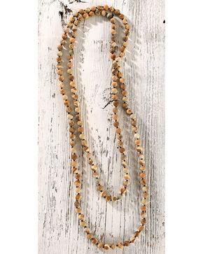Shyanne Women's Semi-Precious Beaded Necklace, Brown, hi-res