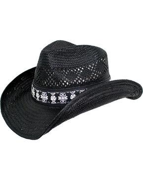 Peter Grimm Women's Black Lexi Cowgirl Hat , Black, hi-res