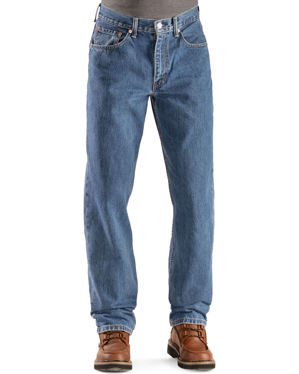 Levi's 550 Jeans - Prewashed Relaxed Fit, Stonewash, hi-res