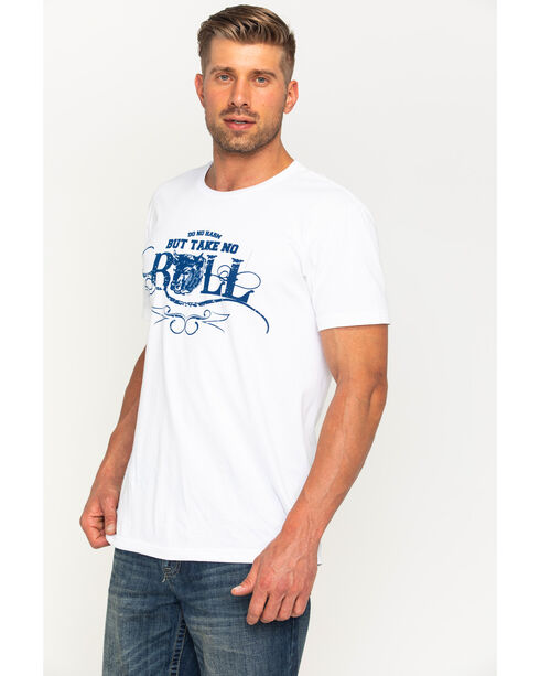 Cody James Men's Take No Bull Graphic T-Shirt, White, hi-res