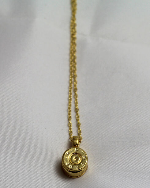 SouthLife Supply Women's Dolley Bullet Necklace in Traditional Gold, Gold, hi-res