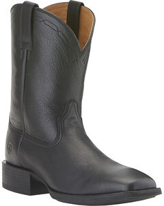 Ariat Heritage Roper Boots - Wide Square Toe, , hi-res