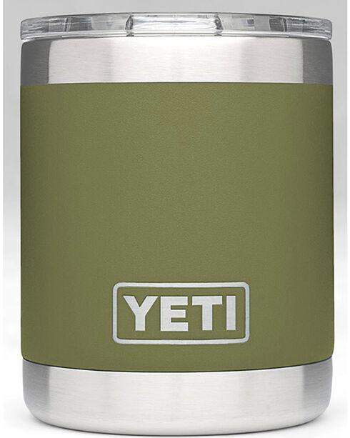 Yeti Olive Green 10 oz. Lowball Rambler , Olive, hi-res