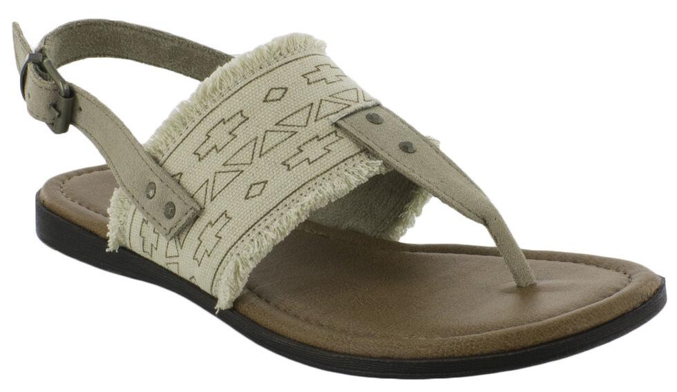 Minnetonka Women's Panama Sandals, Natural, hi-res