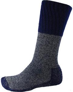 Thorlo Men's Single Pair Western Boot Socks, Blue, hi-res