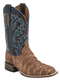 Lucchese Men's Malcolm Alligator Western Boots - Square Toe, , hi-res