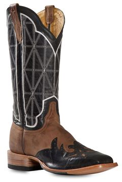 Cinch Classic Mad Dog Stained Glass Wingtip Cowboy Boots - Square Toe, , hi-res