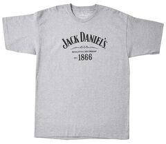 Jack Daniel's Men's 1866 Short Sleeve T-Shirt, Grey, hi-res