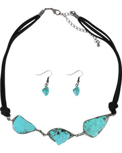 Shyanne Women's Stone Trio Jewelry Set, Turquoise, hi-res