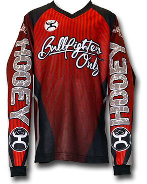Hooey Cody Webster Long Sleeve Shirt , Red, hi-res