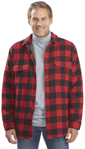 Woolrich Men's Oxbow Bend Lined Shirt Jacket, Black, hi-res