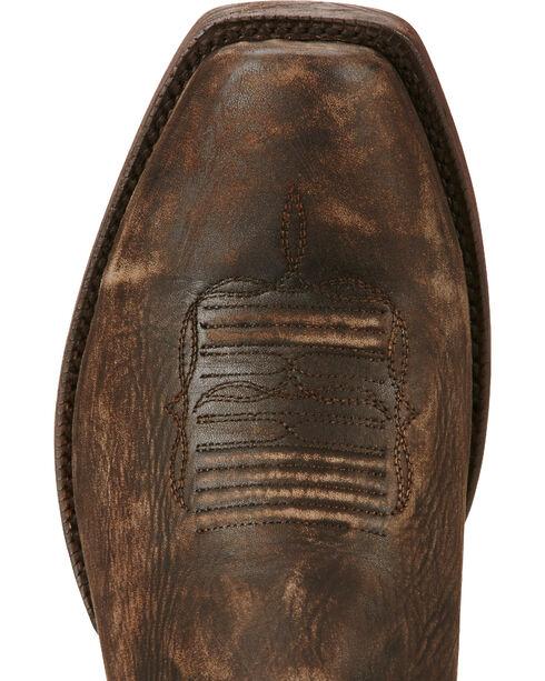 Ariat Breakthrough Ombre Cowboy Boots - Square Toe, Chocolate, hi-res