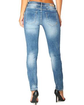 Grace in LA Women's Indigo Basic Jeans - Skinny , Indigo, hi-res