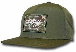 HOOey Men's Green Ripcord Adjustable Hat  , Olive, hi-res