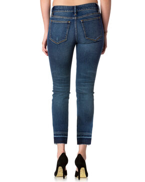 Miss Me Women's Blue On Track Mid-Rise Ankle Jeans - Skinny , Blue, hi-res